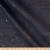Belagio Cork Fabric Plain Blue