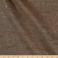 Belagio Cork Fabric Plain Taupe