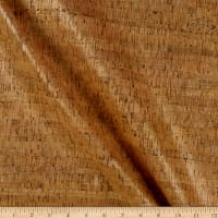 Belagio Cork Fabric Metallic Gold