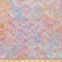 Anthology Batiks Art Inspired Georgia O'Keeffe Diamond Lilac