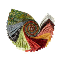 "Anthology Batiks Specialty/Novelty Weave 2.5"" Strips Multi"