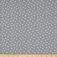 Michael Miller Tiny Tots Organic Dot Gray