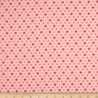 Andover Anna Buttons Pink