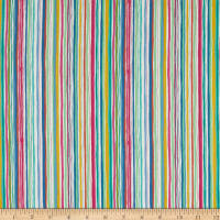 Andover/Makower UK Spring Wavy Stripe Multi
