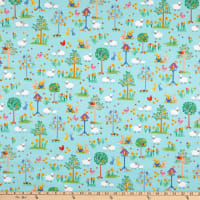 Makower UK Spring Spring Garden Teal