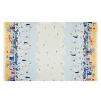 Andover/Makower UK Sail Away Scenic Border Multi