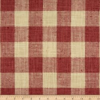 P Kaufmann Fair & Square Woven Raspberry
