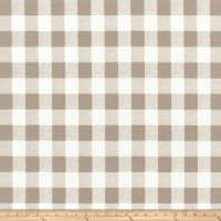 Premier Prints Buffalo Plaid Outdoor Ecru