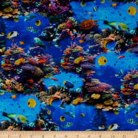 Whistler Studios One Of A Kind Tropical Sea Life Multi