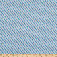 Whistler Studios A Stitch In Time Ric Rac Blue Print
