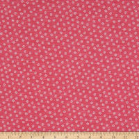 Whistler Studios A Stitch In Time Ditsy Daisy Pink