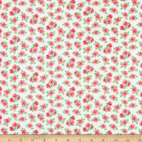 Windham Fabrics Love Letters Mini Roses Rose