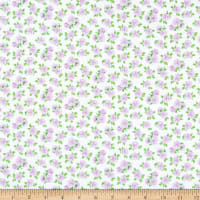 Windham Fabrics Love Letters Mini Roses Lilac