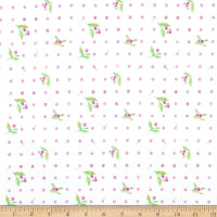 Windham Fabrics Love Letters Flower Dot Lilac