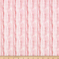Windham Fabrics Love Letters Watercolor Stripe Rose