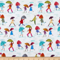 Windham Fabrics Rain Or Shine Puddle Jumping Multi