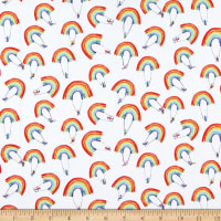 Windham Fabrics Rain Or Shine Rainbow Swing Multi