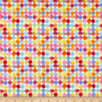Windham Fabrics Rain Or Shine Rainbow Dots Multi