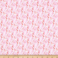 Windham Fabrics Rain Or Shine Raindrops Pink