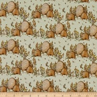 Windham Fabrics Tell The Bees Bee Hives Grey