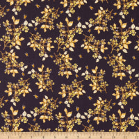 Windham Fabrics Tell The Bees Bee Blossom Aubergine