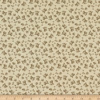 Windham Fabrics Tell The Bees Dandelion Ditsy Almond