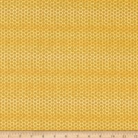 Windham Fabrics Tell The Bees Honeycomb Honey