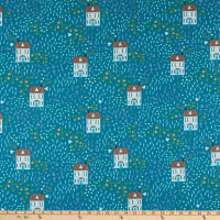 Windham Fabrics Bungalow Little House Teal