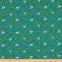 Windham Fabrics Bungalow Butterfly Teal