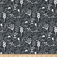 Windham Fabrics Dream It's A Jungle Out There Charcoal