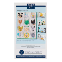 Windham Fabrics Dream Fresh Faces Quilt & Pillow Kit Multi