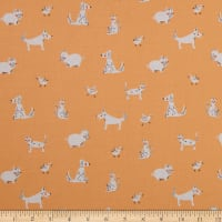 Windham Fabrics Playground Friends Peach