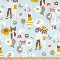 Alexander Henry Cool Cats Grey