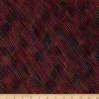 Kanvas Embroidered Elegance Embroidered Stitches Berry