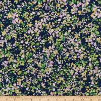 Kanvas Watercolor Wishes Petal Party Navy/Lilac
