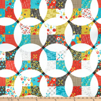 Riley Blake On The Bright Side Cheater Print Multi
