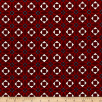 Riley Blake American Legacy Geometric Red