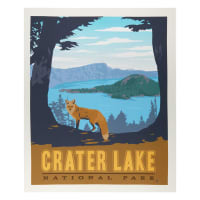 "Riley Blake National Park Crater Lake 36"" Panel Multi"