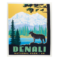 "Riley Blake National Park Denali 36"" Panel Multi"