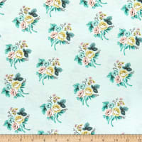 Riley Blake Splendor Bouquet Mint