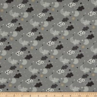 Fabtrends Cotton Jersey Moonlight Grey