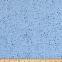 Fabtrends French TerrySplashed Dots Blue