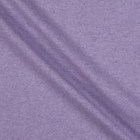 Fabtrends Heathered French Terry Solid Mauve