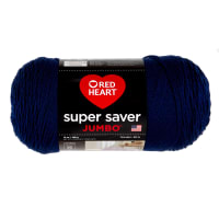 Red Heart Super Saver Jumbo Yarn Soft Navy