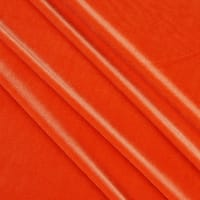 Stretch Velvet Orange