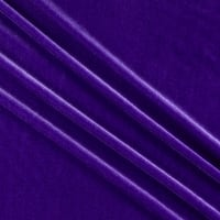 Stretch Velvet Purple