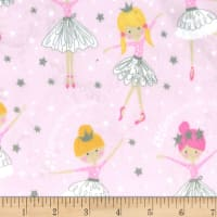 Michael Miller Fabrics Minky We are Sparkle & Shine  Dancing Among the Stars Blossom