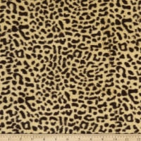 Baby Cheetah Faux Fur Brown/Tan