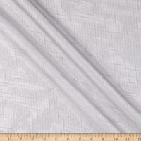 "110"" Beverly Angeles Shine Stripe Sheer White"