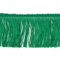 "3"" Chainette Fringe Trim Kelly"